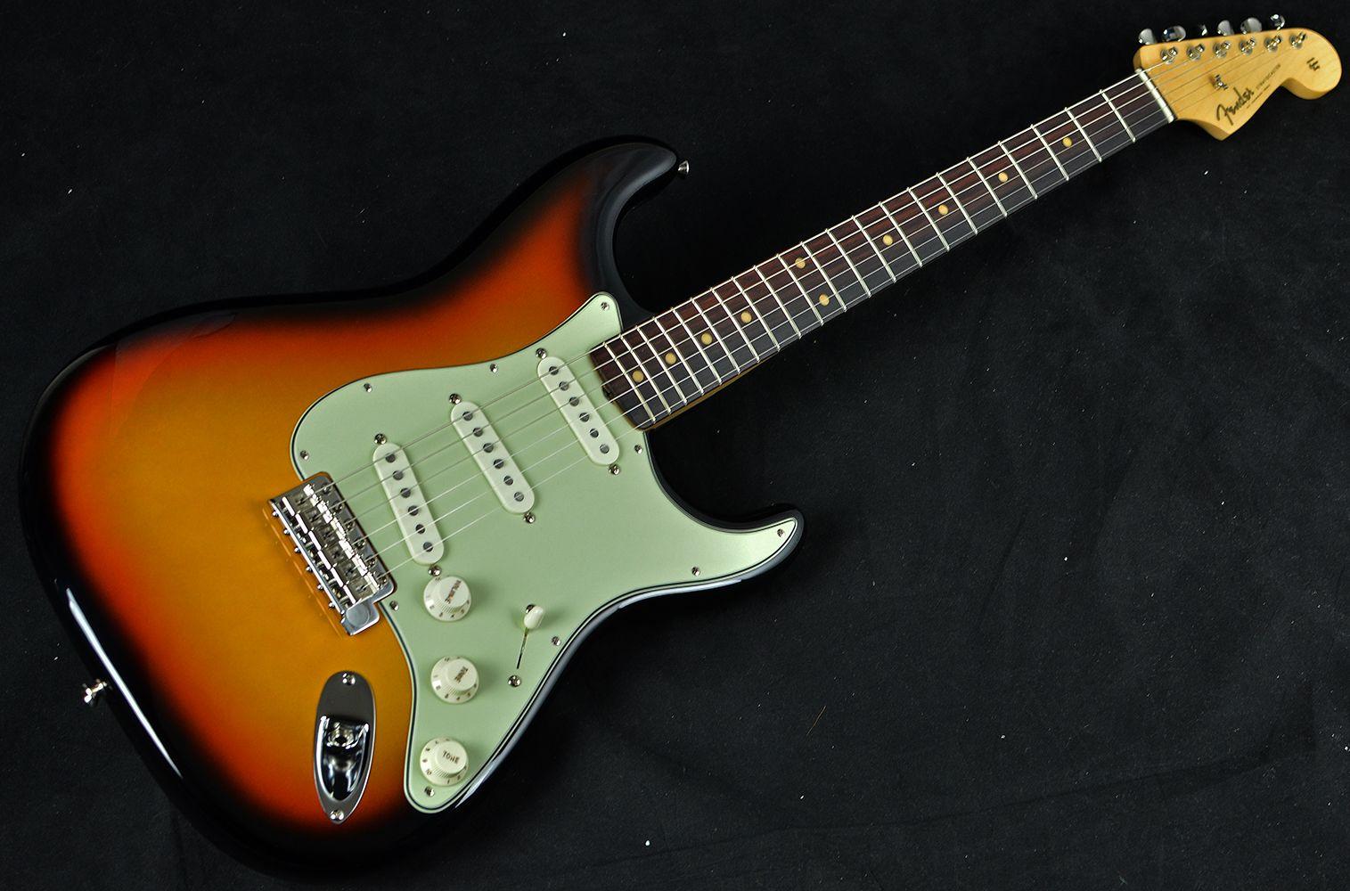 Green eyes guitar